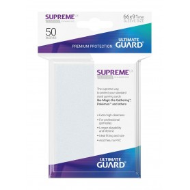 Ultimate Guard 50 pochettes Supreme UX Sleeves taille standard Frosted