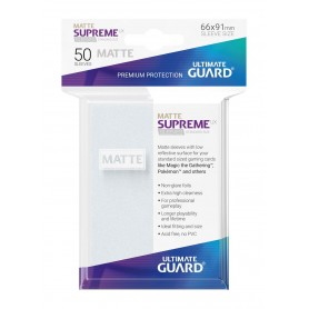 Ultimate Guard 50 pochettes Supreme UX Sleeves taille standard Frosted Mat