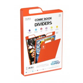 Ultimate Guard 25 intercalaires pour Comics Premium Comic Book Dividers Orange