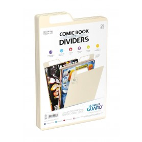 Ultimate Guard 25 intercalaires pour Comics Premium Comic Book Dividers Sable