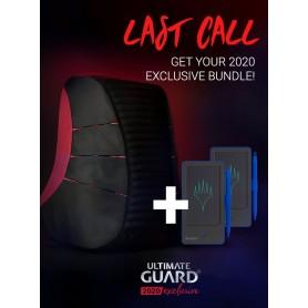 Ultimate Guard 2020 Exclusive Bundle Ammonite Backpack + 2 Digital Life Pads