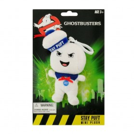 SOS Fantômes porte-clés peluche parlante Stay-Puft Marshmallow Man Angry 10 cm *ANGLAIS*