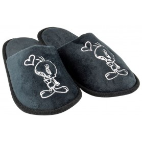 Looney Tunes chaussons Tweety Black Heart (S)