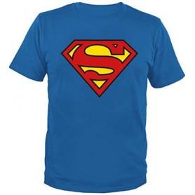 Superman T-Shirt Classic Logo (L)