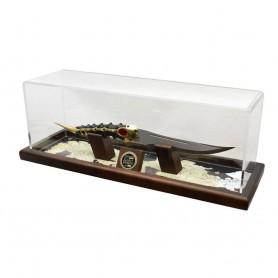 Le Trône de fer réplique 1/1 dague d'Arya (Acier de Damas) 50 cm