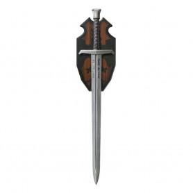Le Roi Arthur : La Légende d'Excalibur réplique 1/1 épée Excalibur (Acier de Damas) 102 cm