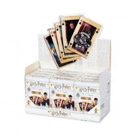 Harry Potter présentoir jeux de cartes Waddingtons Number 1 (12) *FRANCAIS*