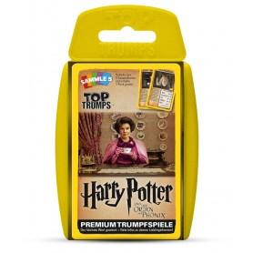 Harry Potter et l´Ordre du phénix Top Trumps *ALLEMAND*