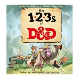 Dungeons & Dragons livre éducatif The 123s of D&D *ANGLAIS*