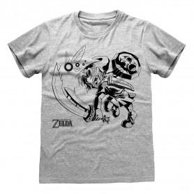 Legend Of Zelda T-Shirt Link And Navi (S)