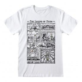 Legend Of Zelda T-Shirt Drawings (M)