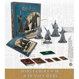 Harry Potter pack 4 figurines 35 mm Wizarding Wars Barty Crouch Jr. & Death Eaters *ANGLAIS*