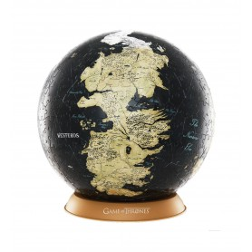 Game of Thrones puzzle 3D Globe Unknown World (540 pièces)