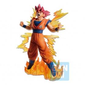 Dragon Ball Super statuette PVC Ichibansho Super Saiyan God Goku 20 cm