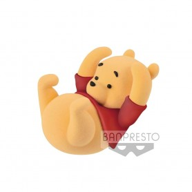 Disney figurine Cutte! Fluffy Puffy Winnie the Pooh 5 cm