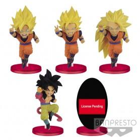 Dragon Ball Z: Dokkan Battle assortiment figurines WCF ChiBi 7 cm Vol. 1 (12)