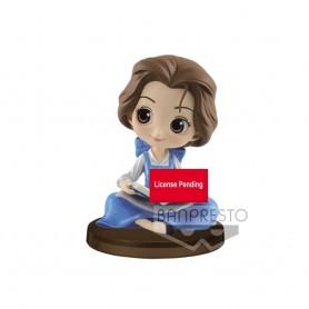 Disney figurine Q Posket Mini figurine Story of Belle Ver. A 4 cm