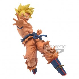 Dragon Ball Super statuette PVC Drawn By Toyotaro Father- Son Kamehameha Son Goku 16 cm