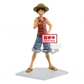 One Piece statuette PVC magazine Monkey D. Luffy Special Episode Luff Vol. 1 18 cm