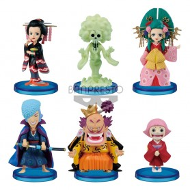 One Piece assortiment statuettes WCF ChiBi 7 cm Wanokuni Vol. 6 (12)