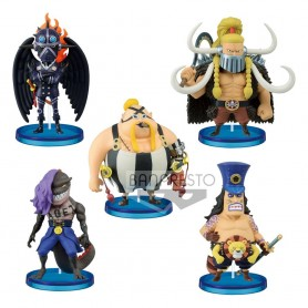 One Piece assortiment statuettes WCF ChiBi 7 cm Beasts Pirates 1 (12)