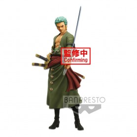 One Piece statuette PVC Grandista Nero Roronoa Zoro 28 cm