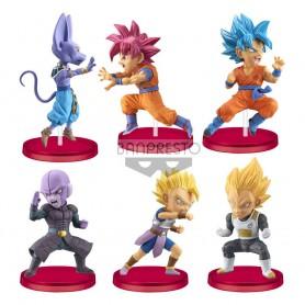 Dragon Ball Super assortiment statuettes WCF ChiBi 7 cm Battle of Saiyans (12)