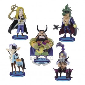 One Piece assortiment statuettes WCF ChiBi 7 cm Beasts Pirates 2 (12)