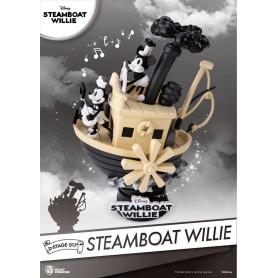 Steamboat Willie diorama PVC D-Stage Mickey & Minnie 15 cm