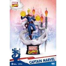 Marvel Comics diorama PVC D-Stage Captain Marvel 16 cm
