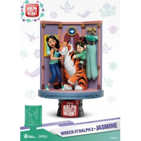 Ralph 2.0 diorama PVC D-Stage Jasmine & Vanellope 15 cm