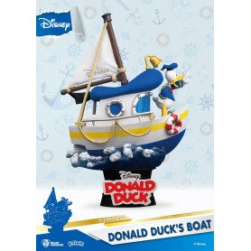 Disney Summer Series diorama PVC D-Stage Donald Duck's Boat 15 cm