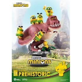 Minions diorama PVC D-Stage Prehistoric 15 cm