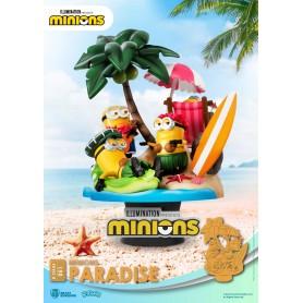 Minions diorama PVC D-Stage Paradise 15 cm