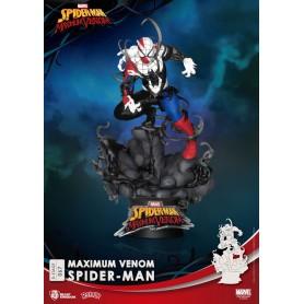 Marvel Comics diorama PVC D-Stage Maximum Venom Spider-Man 16 cm