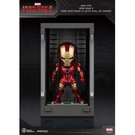 Iron Man 3 Mini Egg Attack figurine Hall of Armor Iron Man Mark III 8 cm
