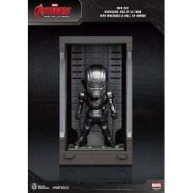Avengers L'Ère d'Ultron Mini Egg Attack figurine Hall of Armor War Machine 2.0 8 cm