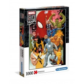 Marvel 80th Anniversary Puzzle Characters