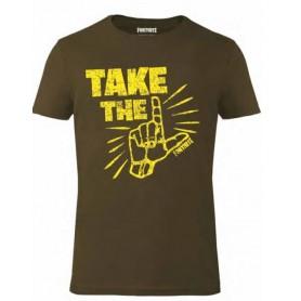 Fortnite T-Shirt Take The (M)