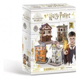 Harry Potter puzzle 3D set Chemin de Traverse (273 pièces)