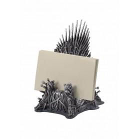 Game of Thrones porte-cartes de visite Le Trône 11 cm