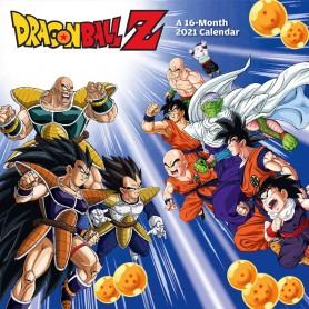 Dragon Ball Z calendrier 2021 *ANGLAIS*