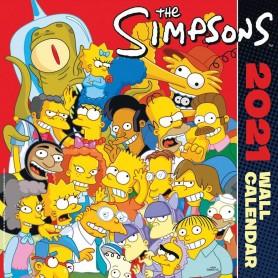 Simpsons calendrier 2021 *ANGLAIS*