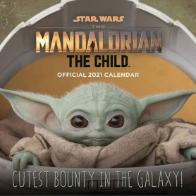 Star Wars The Child calendrier 2021 *ANGLAIS*