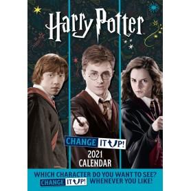Harry Potter calendrier A3 2021 *ANGLAIS*