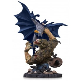 DC Comics statuette Mini Battle Batman vs. Killer Croc 21 cm