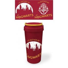 Harry Potter mug de voyage Eco (bioplastique) Rather be at Hogwarts