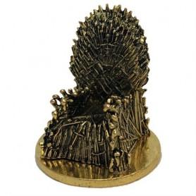 Game of Thrones mini réplique KUZO Diecast Iron Throne Gold Variant SDCC 2019 5 cm