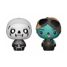 Fortnite pack 2 figurines Pint Size Heroes Skull Trooper & Ghoul Trooper 6 cm