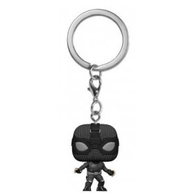Spider-Man: Far From Home porte-clés Pocket POP! Vinyl Spider-Man (Stealth Suit)  4 cm